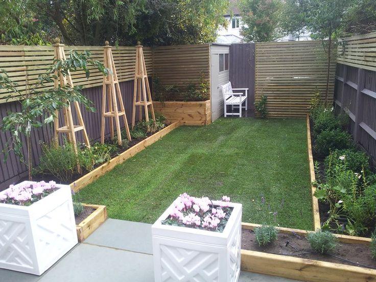 London garden design Honeybrook road | Back garden design ... on Tiny Back Garden Ideas id=82236