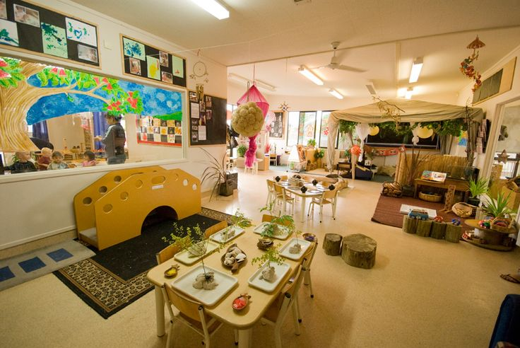 Natural Classroom Design ~ Bear park pre school education and childcare centres