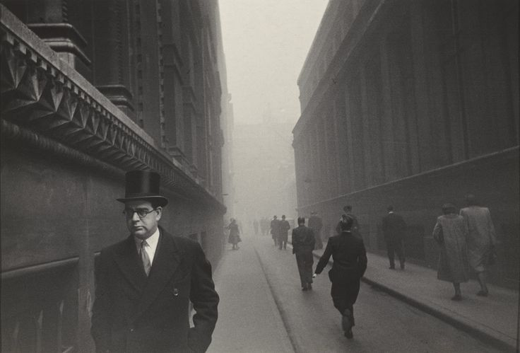 Robert Frank, City of London 1951