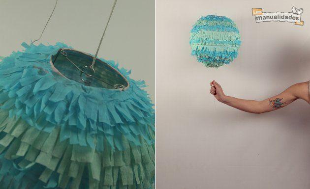 La piñata es uno de los elementos que sí o sí debe estar presente en un cumpleaños infantil. El momento en que los chicos rompen la piñata para hacerse de
