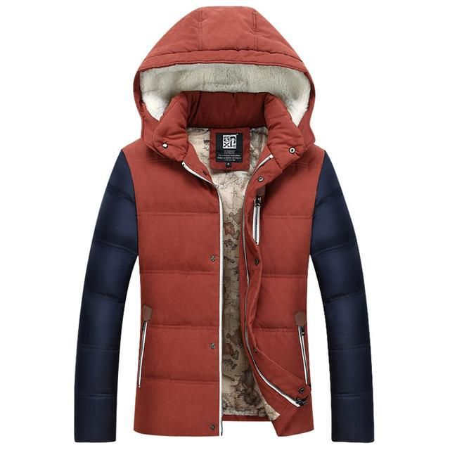Men's Winter & Autumn Down Jacket Coat New Parkas Men Warm Men's Coat Down Jacket