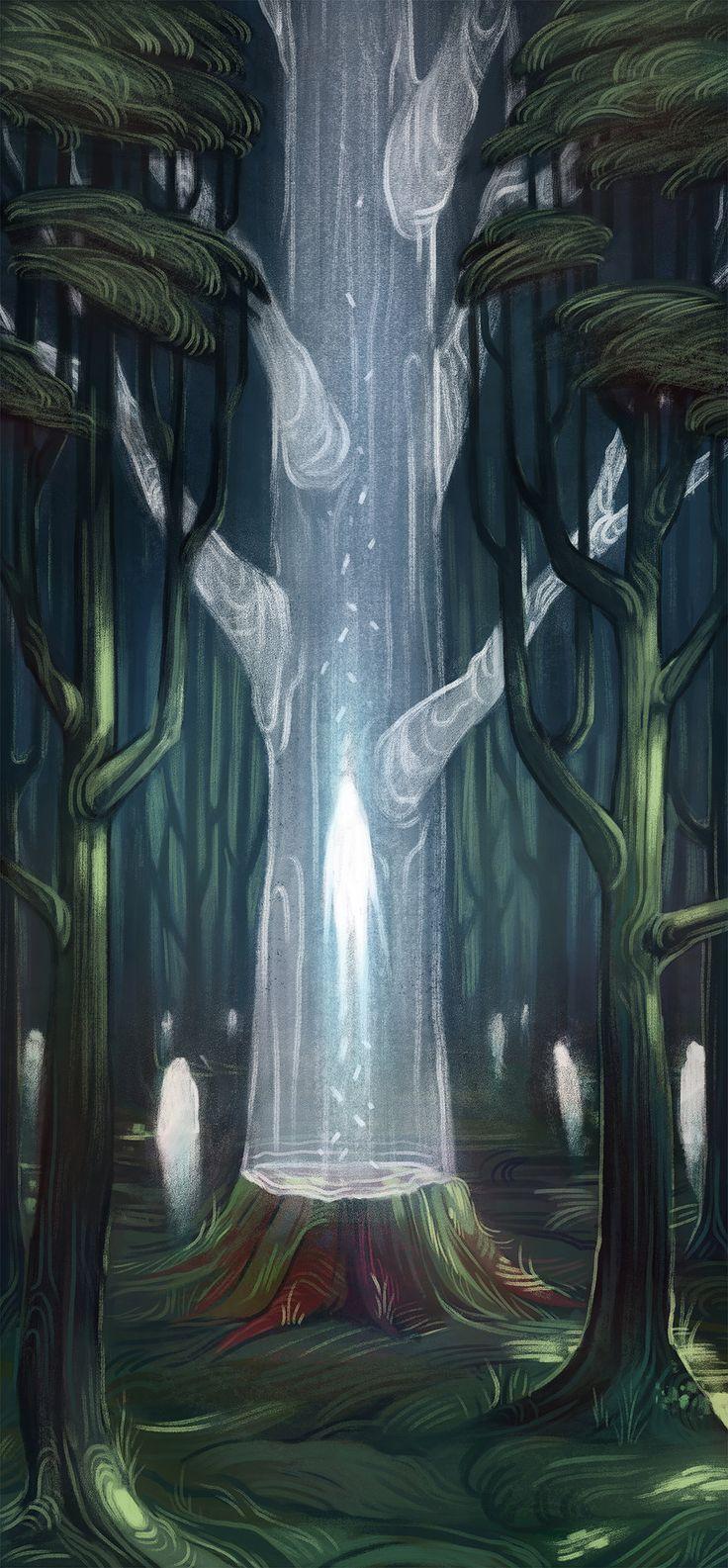 Cake Art Decor Zeitschrift Abo : Olivia Chin Mueller Illustration Death of a Tree ...