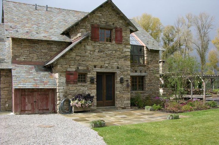 63 best rustic exterior shutters images on pinterest for Custom home builders wyoming
