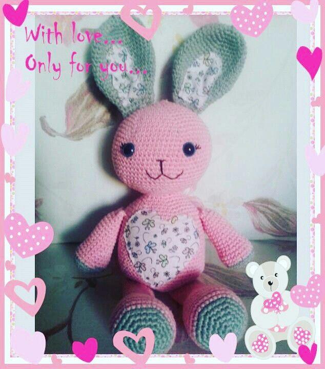 #amigurumi #toys #bunny #rabbit #crochet #handmade #hobi #örgü