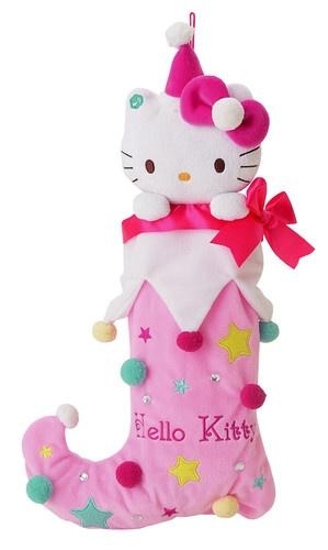 Hello Kitty Pink Musical Christmas Stocking 2012 | eBay