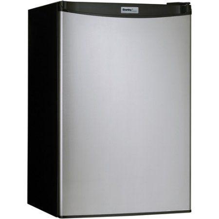 Danby Designer 4.4 cu ft Compact Refrigerator, Silver