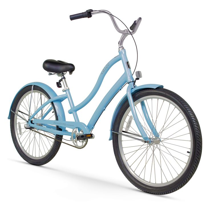 Firmstrong Womens CA-520 26 in. 3 Speed Beach Cruiser Bicycle - 15281