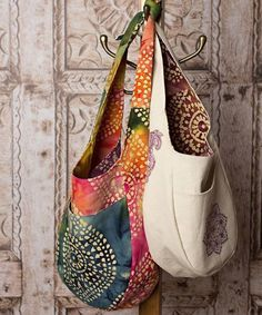 India Hobo Bag | The best sewing patterns for women, girls, toys and more. Go To Patterns & Co.