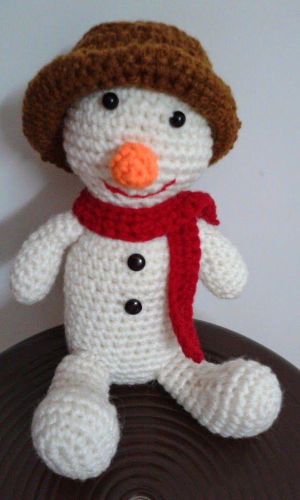 Free Snowman Amigurumi Pattern ~ Free Crochet Patterns ...