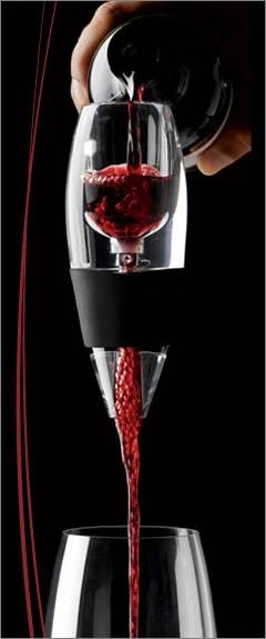 Vinturi wine aerator. I should sell these ~ can't live without mine