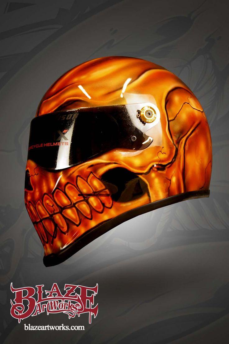 Orange ktm custom helmetorange ktm custom helmet custom