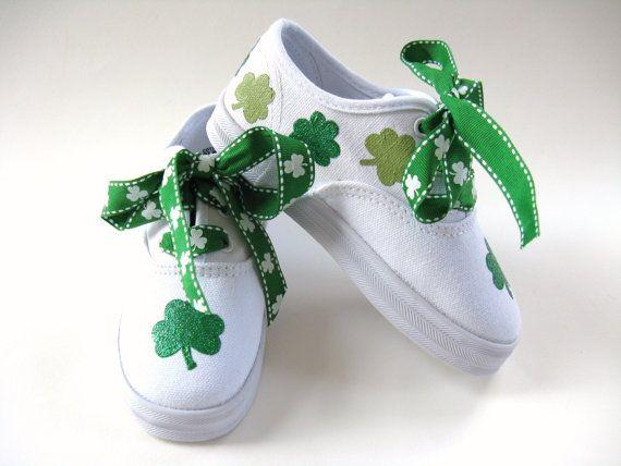 Girls Shamrock Shoes Baby and Toddler St by boygirlboygirldesign, $30.00