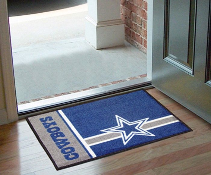 White Rugs Dallas Cowboys Uniform Inspired Area Rug