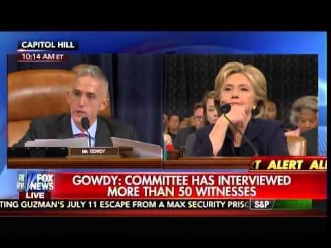 Chairman Trey Gowdy Destroys Democrats for Obstructing Benghazi Investig... 10/22/15