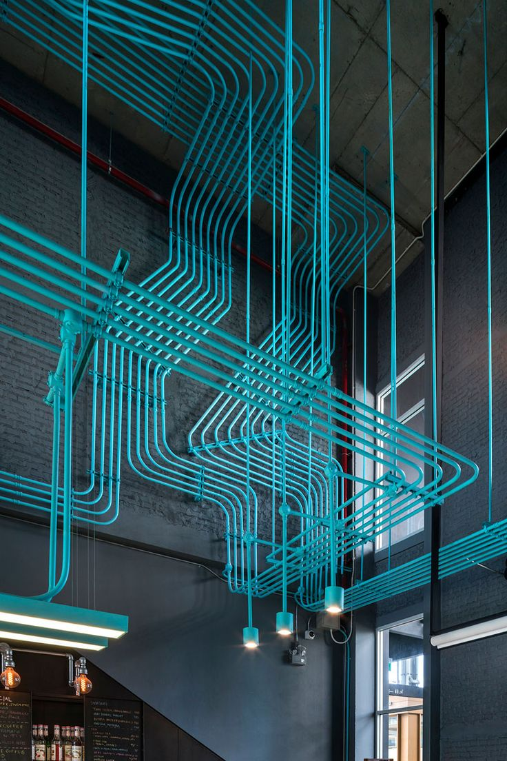 Forro desenhado em azul | Blog da FAL | Design, Inspiração & Varejo