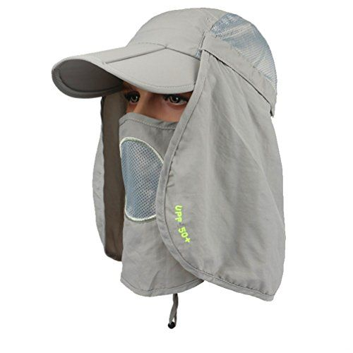 6fc05b1c64f5d ... Mask Removable Legion Hat 360 Outdoor Sun Hat Anti-Mosquito Hunting Hat  CES-OTI388