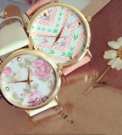 #Hijab floral watch, the best accessory for every #hijabi women