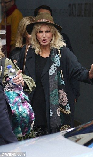 On to the next one: Jennifer Saunders and Joanna Lumley are very much in the midst of thei...