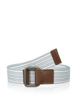 51% OFF Original Penguin Men's Striped Webbed Belt (Pearl)