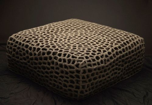 cjwho:  Creative Furniture Made of Yarn and Thread Knitting and...