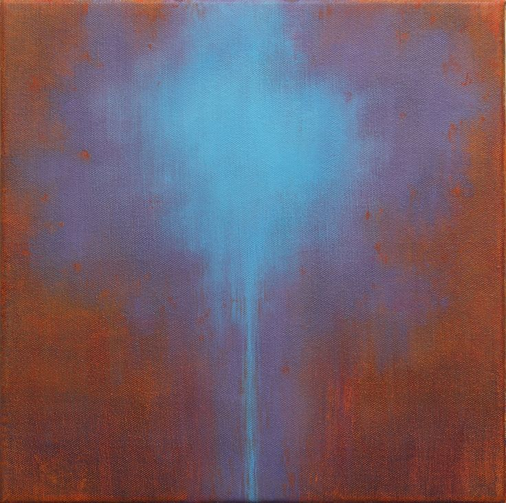 Out of Blue 2014 o.c. 30x30 cm
