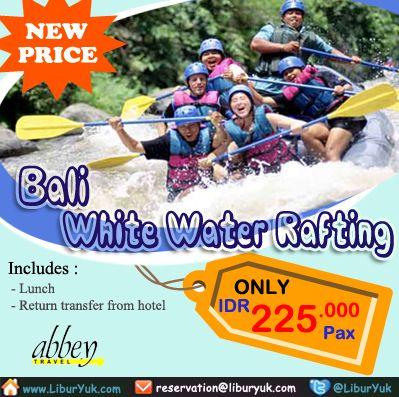 Nikmati waktu terbaik di #Bali dengan petualangan #arung #jeram di spektakuler Sungai #Ayung - sebuah perjalanan tak terlupakan melalui pemandangan hutan yang #eksotik dan sungai dan ngarai yang curam yang indah yang dipimpin oleh Guide professional yang handal.  Dapatkan Spesial Paket tersebut dari #LiburYuk http://liburyuk.com/bookitem/18/2014-06-07/Bali---White-Water-Rafting #Rafting #jalan2 #AbbeyTravel #jalan2 #holiday