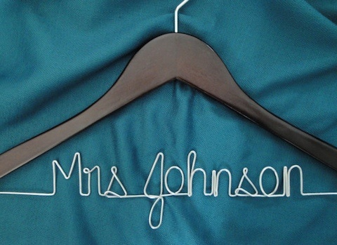 play clothes t shirts love this personalized hanger  Me