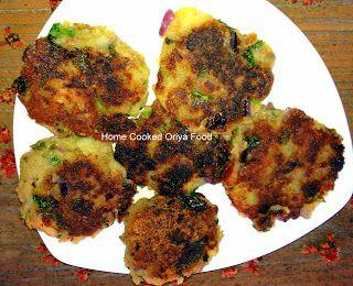 Oriya Food: Kancha Kadali Bara (Green Plantain Cutlet)