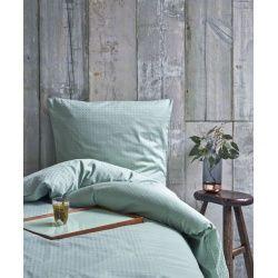 Juna 'Cube' sengelinned, 140x200 cm, Silt Green
