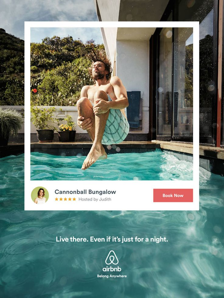 Live There Airbnb Campaign