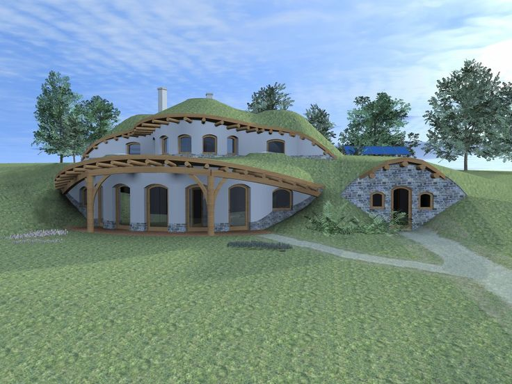 House plans for underground house