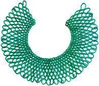 This complex looking, elegant netted bead collar uses size 11/0 seed beads and is actually quite easy to make