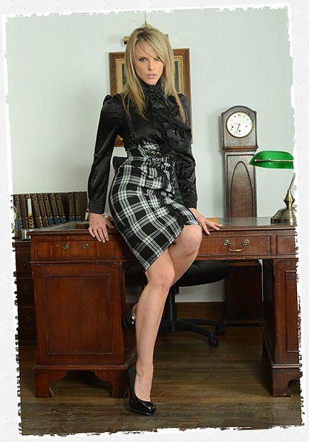 Headmistress Mackenzie, A Teacher At St Mackenzies Con -9980
