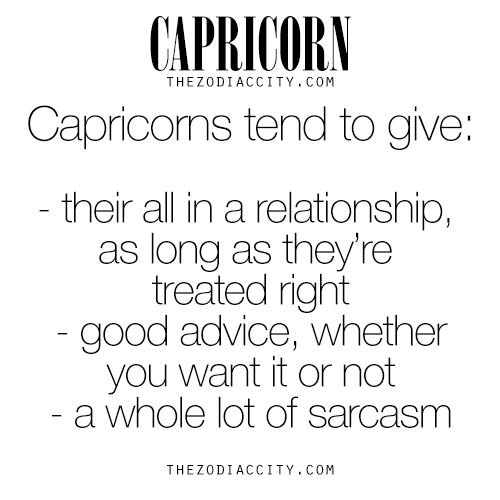 Each zodiac sign has special or unique things that they can offer another person. These are some of the things that a Capricorn is great at. | Read more about Capricorn at TheZodiacCity.com