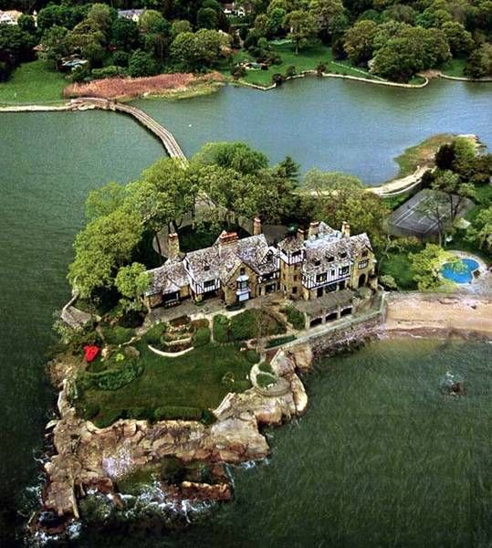 Greenwich Ct Luxury Mansions: Aerial Views Of Luxury Homes