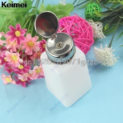 Empty Pump Dispenser For Nail Art Polish Remover Makeup Tool 150ML Bottle
