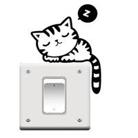 I think you'll like 1Pc Black Cute Cat Removable Art Vinyl Switch Sticker Home Wall Window Decor Hot. Add it to your wishlist! http://www.wish.com/c/5459d34d90c77649acb94047