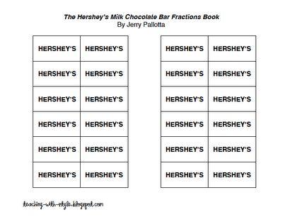 hershey bar equivalent fractions worksheet hershey bar fractions lesson1000 images about 3rd. Black Bedroom Furniture Sets. Home Design Ideas
