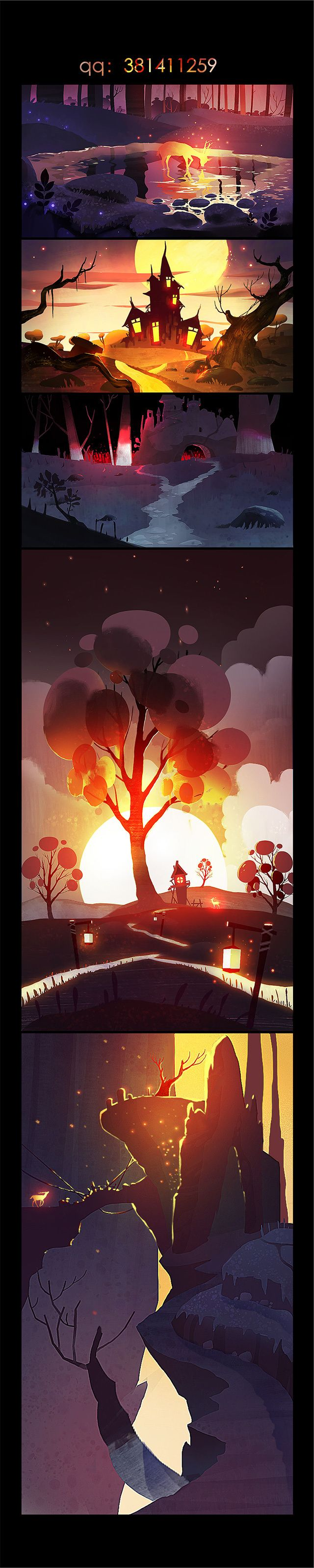 "Personal works ""backlit"" | Business illustration | illustration | grass-eight ..."