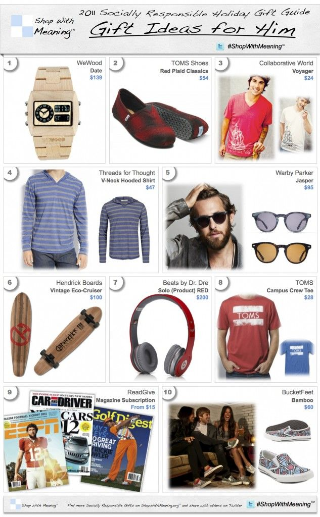Xmas Gifts For Men Part - 41: Shop With Meaning - Socially Responsible Gifts For Men