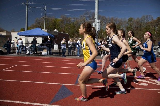 PHOTOS: Longmeadow boys and girls track and field teams clinch championships at George Steele Relays - MassLive.com