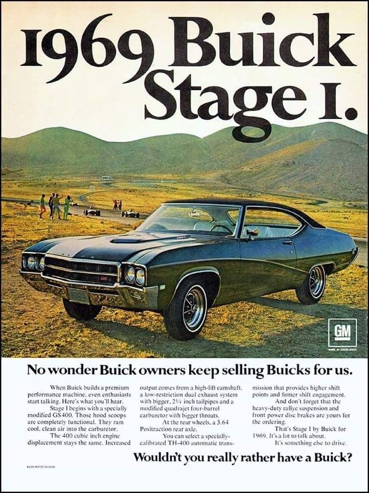 1969 Buick Gs400 Stage I The Clock Was Ticking For Performance