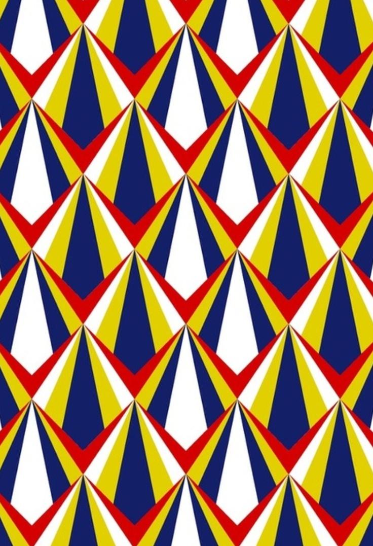 Ritme: In dit patroon zit ook een ritme
