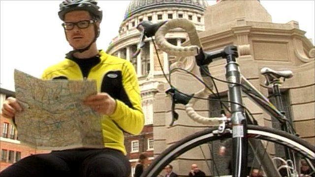 BBC News - The London-Paris cycle route that keeps getting you lost