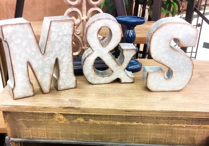 Metal Letters for Wall