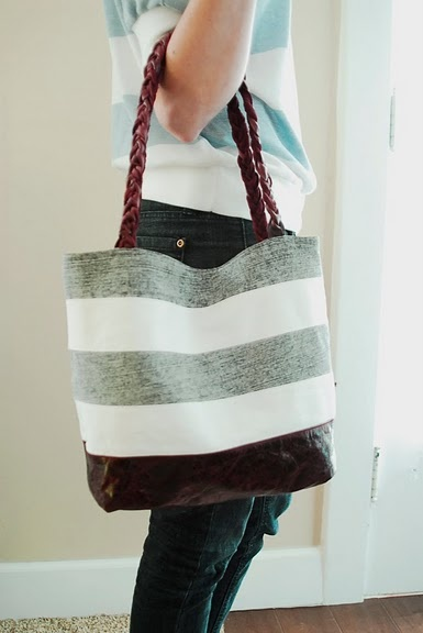 Tote from Jeans: Would like to make this from non blue jeans