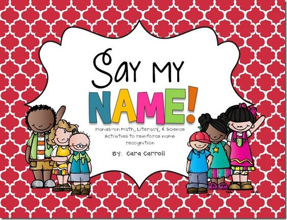 "If you're interested in adding some name fun to your room, check out my unit, ""Say My Name!""  This packet is a collection of activities & ideas I've been using to reinforce name recognition for the last 11-ish years."