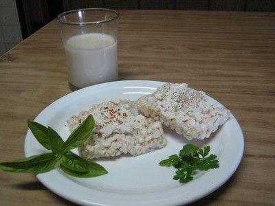 Leche de soja organica y tofu untable en HazteVegetariano.com