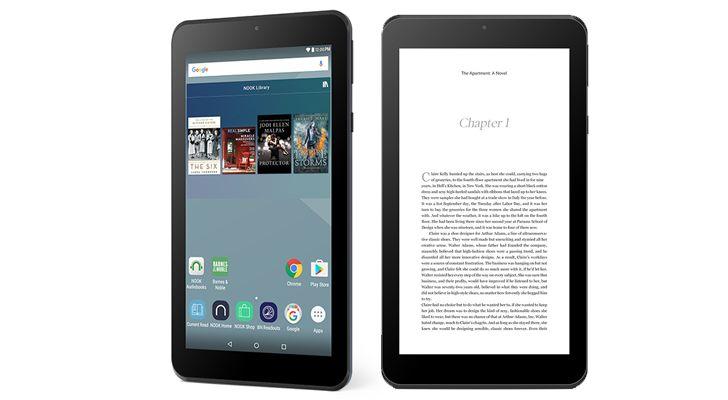 Barnes & Noble Nook Tablet 7  семидюймовый планшет компании оценённый в 50 долларов