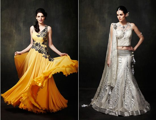 Indian bridal wear by Ankur Batra  2011 #indianwedding, #shaadibazaar
